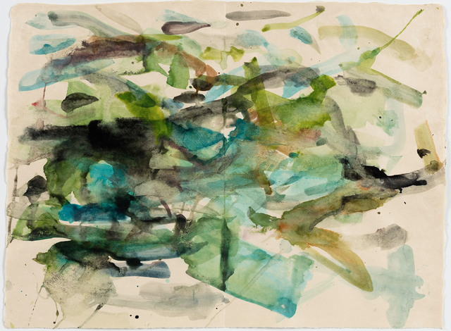 Mary Weatherford, 'river', 2015, Gagosian