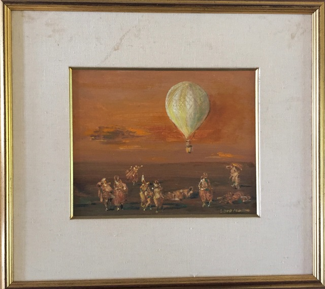 , 'Balloon At Dawn,' ca. 1930, Osceola Gallery