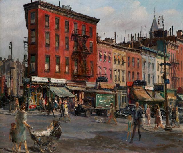 , 'Greenwich Village, New York,' , Questroyal Fine Art