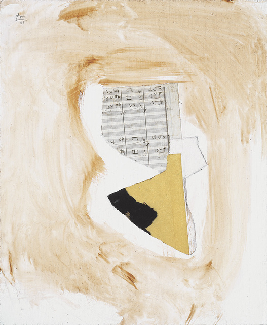 , 'White Music II,' 1985, Dedalus Foundation