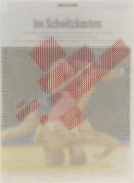 , 'Der Spiegel (Headlock) with 25% Kazimir Malevich,' 2013, Corbett vs. Dempsey