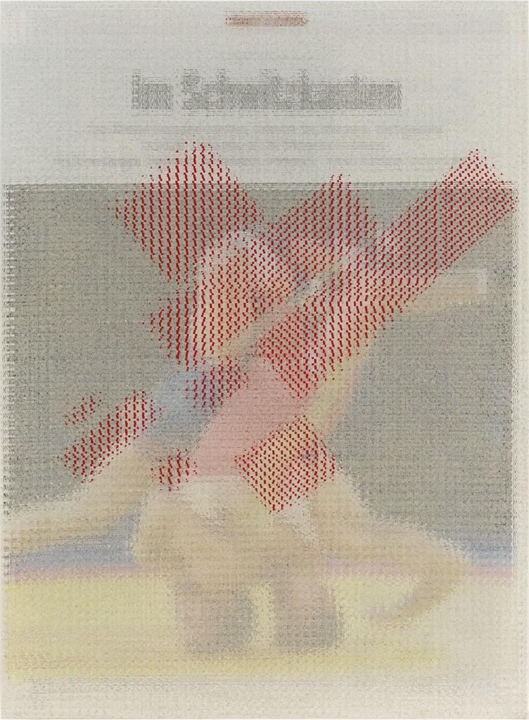 John Sparagana, 'Der Spiegel (Headlock) with 25% Kazimir Malevich,' 2013, Corbett vs. Dempsey