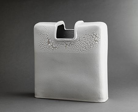 , 'Rectangular vase, kairagi glaze,' , Pucker Gallery