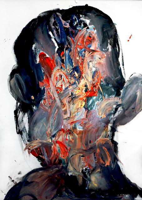 Mani Vertigo, 'Goodbye F', 2017, Painting, Oil on canvas, Galleri Duerr
