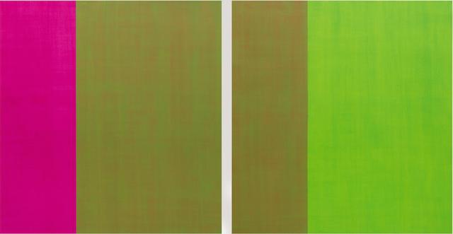 Juan José Cambre, 'Ludus tonalis A Grand Detail (diptych), ', 2019, Dot Fiftyone Gallery
