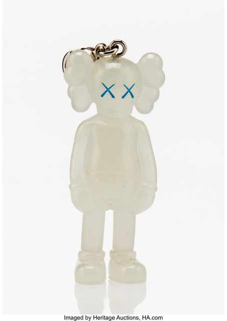 KAWS, 'Companion (Glow in the dark), keychain', 2009, Other, Painted cast vinyl, Heritage Auctions