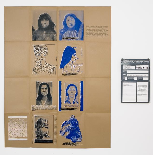 , 'Nueve Sobrevivientes (Plumas),' 1986-2007, Alexander and Bonin