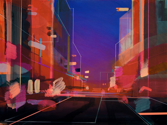 , 'High Street Twilight,' 2018, Sarah Wiseman Gallery