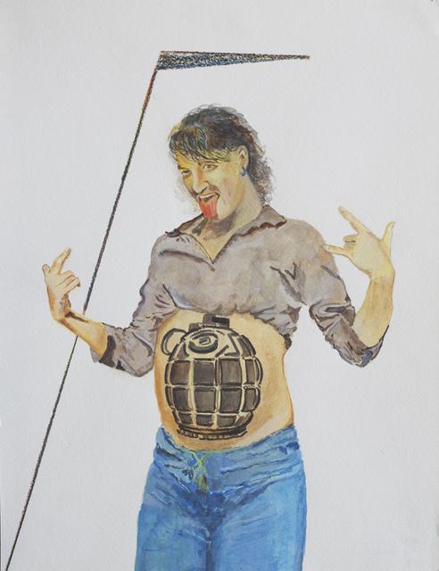 , 'Grenade My Baby,' 2008, Deborah Colton Gallery