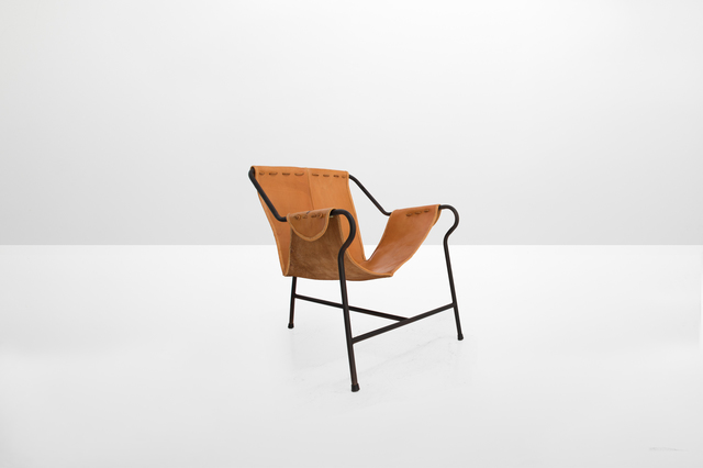 ", 'Pair of lounge chairs model ""Tripe"" ,' 1991, Side Gallery"