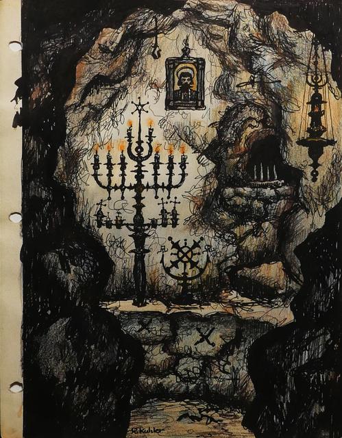 Renaldo Kuhler, 'Ojallic Shrine Mining Tunnel, Black New Serbia ', 1959, Ricco/Maresca Gallery