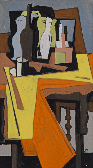 , 'Geometric Still Life,' ca. 1954, Rosenberg & Co.