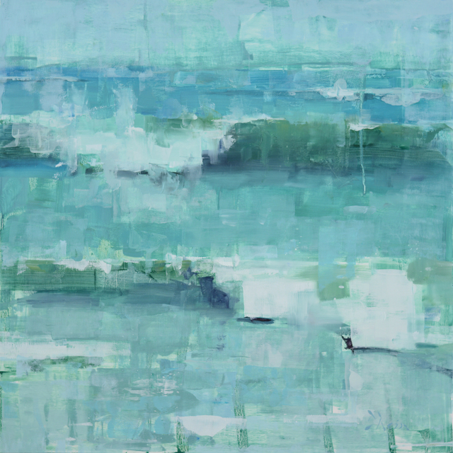 , 'Wave Study in Turquoise,' 2015, Abend Gallery