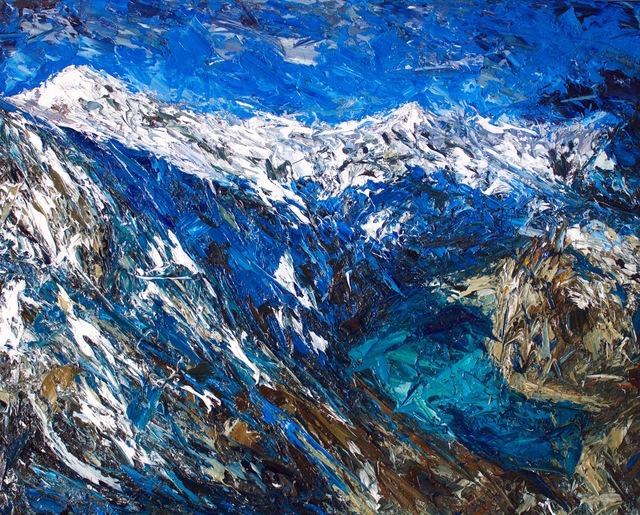 , 'Douglas Glacier, Mt Sefton,' 2017, Rebecca Hossack Art Gallery