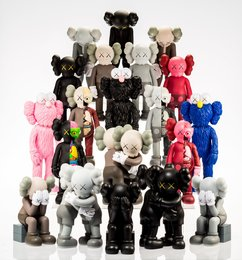 Set of 16 Kaws Dolls
