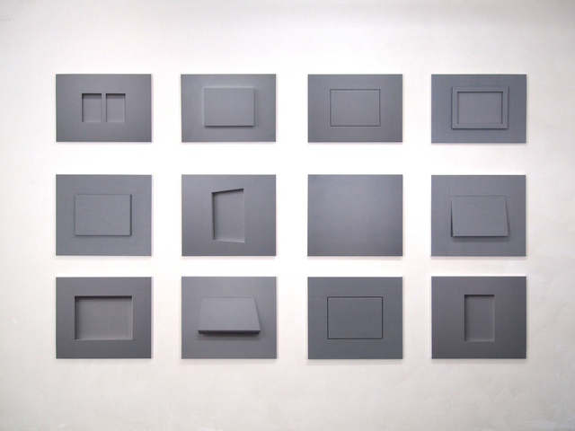, '12 Nichtbilder,' 2016, Borzo Gallery