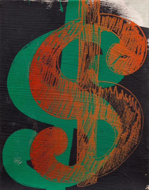 , 'Dollar Sign,' 1981, Edward Tyler Nahem Fine Art LLC