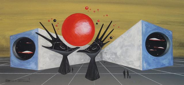 , 'TRANSPORTER-CENTRAL,' 2018, La Luz de Jesus Gallery