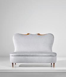 Rare sofa, designed for the Apartment P., Milan