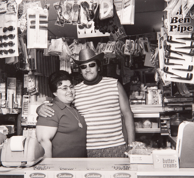", 'Untitled, from the series, ""Lower West Side, Buffalo, Felix & Wife"",' 1992, San Jose Museum of Art"
