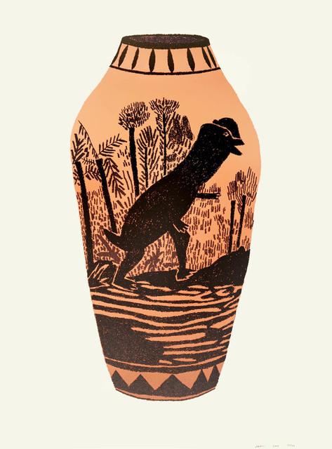 Jonas Wood, 'Dilophosaurus', 2015, Shapero Modern