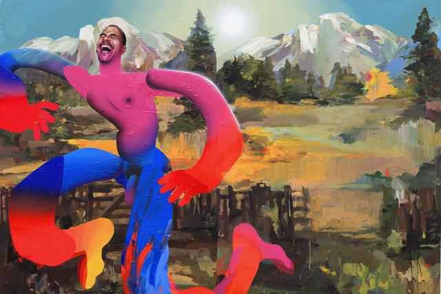Erik Jones, 'Aayan', 2019, Painting, Pencil and acrylic on cotton rag mounted to birch panel, Hashimoto Contemporary