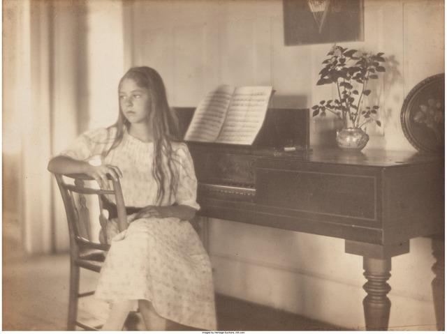 Margaret Watkins, 'Grandmother's Piano, Josephine Lanier', circa 1922, Heritage Auctions
