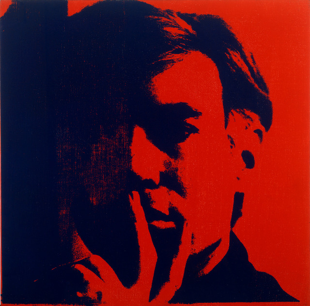 Andy Warhol, 'Self-Portrait', 1966-1967, Painting, Acrylic and silkscreen ink on canvas, National Gallery of Victoria