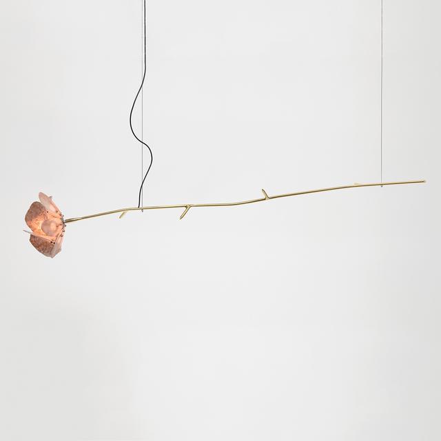 Chen Chen and Kai Williams, 'Single Stone Rose Pendant', 2019, The Future Perfect