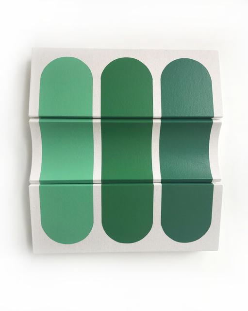 , 'Untitled Three Greens ,' 2018, g.gallery