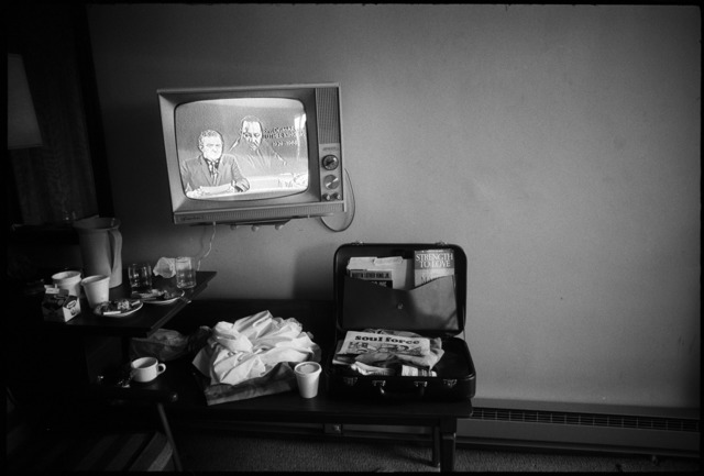 , 'Martin Luther King Jr's hotel room hours after he was shot, Memphis, Tenn, April 4, 1968,' , Monroe Gallery of Photography