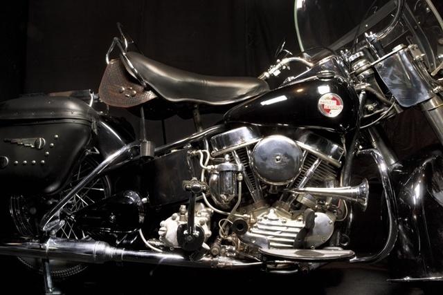 , 'Elvis Presley's 1957 Harley-Davidso Hydra Glide Motorcycle, Graceland, Memphis, Tenessee,' 2011, Bernheimer Fine Art