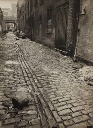 Berenice Abbott, 'Charles Lane, Between West and Washington Streets, Manhattan,' 1938, Phillips: The Odyssey of Collecting