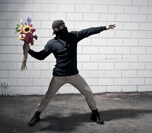 Nick Stern, 'Flower Thrower', 2015-2020, Photography, Digital fine art print, Wallspace