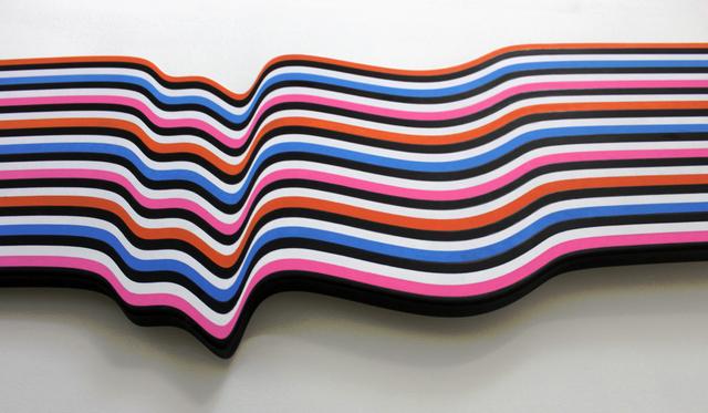 , 'Shaped Painting jU7v,' 2014, Galleria GUM