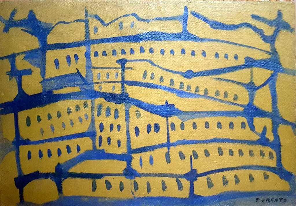 Giulio Turcato, 'paesaggio urbano', 1951, StyriArt