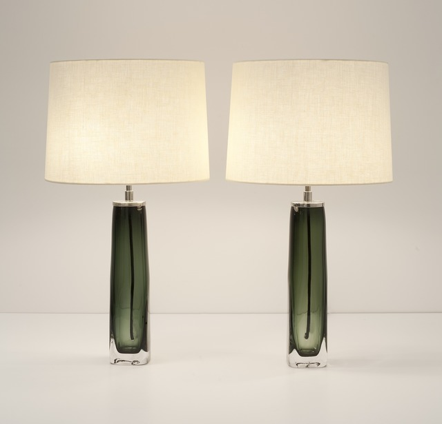 Carl Fagerlund, 'Pair of Table Lamps', mid-20th century, Maison Gerard