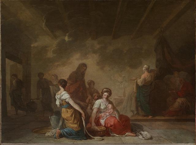 , 'Esquisse pour La Naissance de la Vierge,' ca. 1779, Didier Aaron