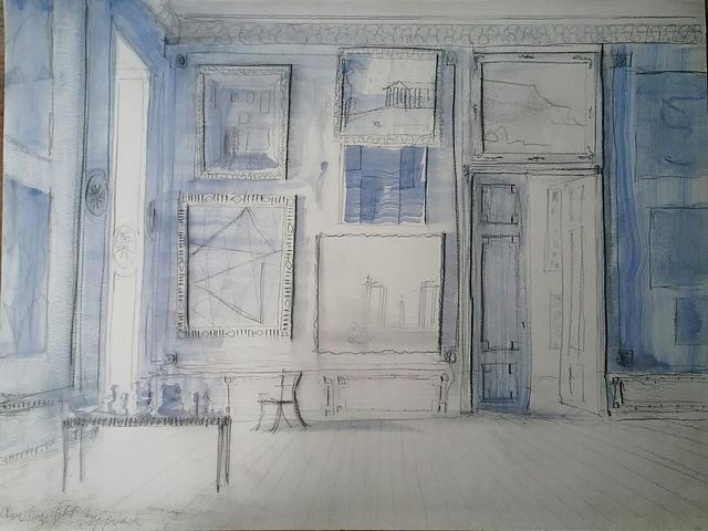 , 'Chez Lagerfeld, Paris,' 2018, Octavia Art Gallery