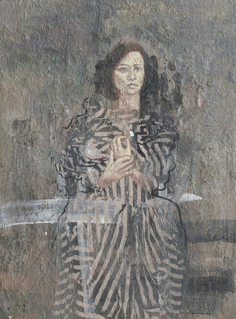 , 'Lady with Titanium White Petal ,' 2014, Albemarle Gallery | Pontone Gallery