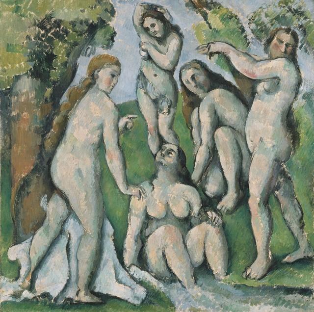 , 'Cinq Baigneuses (Five Bathers),' 1885-1887, Kunstmuseum Basel