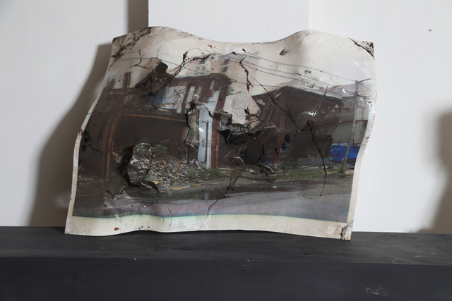, 'Collapsed roof,' 2016, Gallery Odyssey