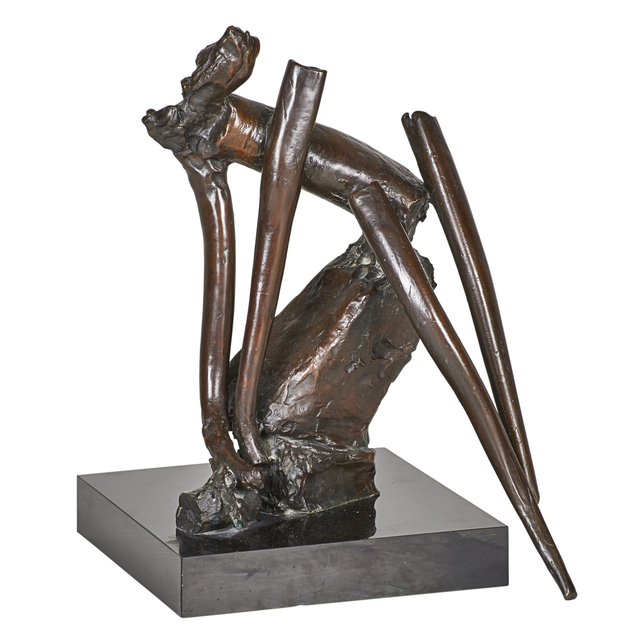 Reuben Nakian, 'Untitled', 1984, Sculpture, Bronze on stone base, Rago/Wright