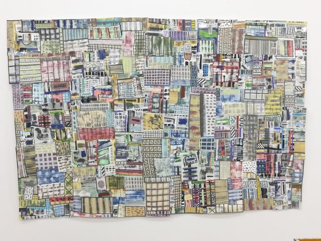 , 'Brick and Mortar,' 2017, Mindy Solomon Gallery