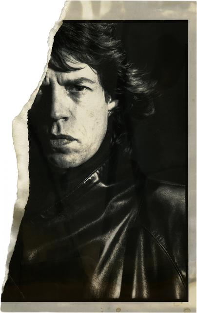 , 'Uncharted – Mick Jagger,' 1985, Daniel Blau