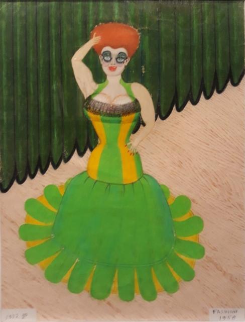 , 'Untitled (Fashions 1958),' 1872, Ricco/Maresca Gallery