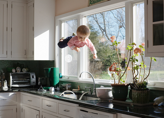 , 'Kitchen Flight,' 2012, ClampArt