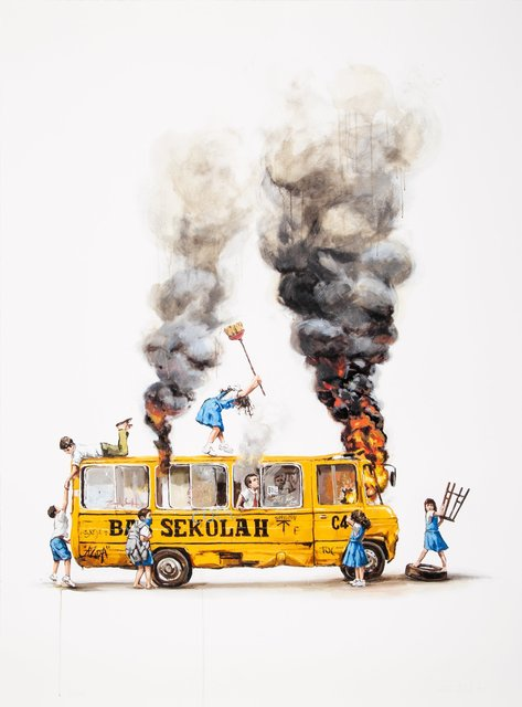 Ernest Zacharevic, 'Rage Against the Machine', 2018, Heritage Auctions