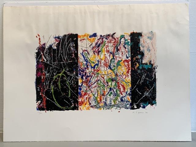Nancy Graves, 'Equivalent', 1980, Print, Screenprint, Anders Wahlstedt Fine Art