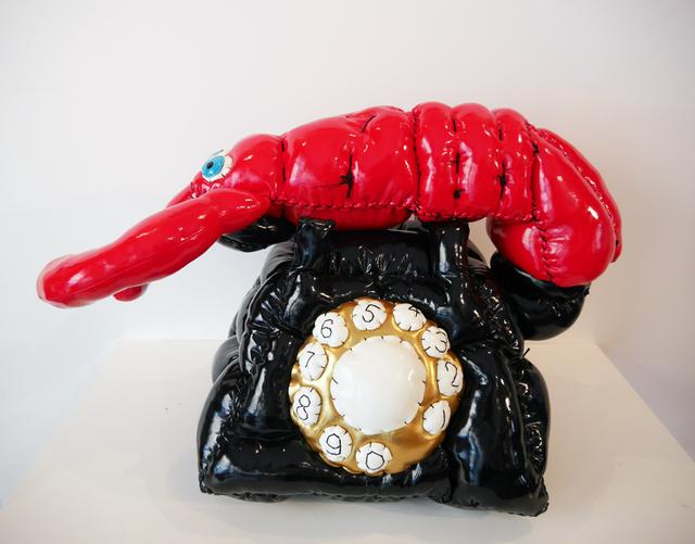 , 'Dali's phone contaminated by a fat virus,' 2015, Galerie Geraldine Banier